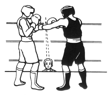 USA Olympic Boxing rule book drawing